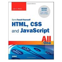 Pearson/Macmillan Books HTML, CSS and JavaScript All in One, 2nd Edition