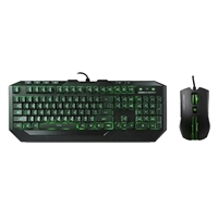 Cooler Master Devastator Gaming Keyboard & Mouse Combo - Green LED