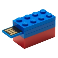 PNY 16GB Blue Lego USB
