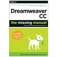 O'Reilly Dreamweaver CC: The Missing Manual: Covers 2014 release, 2nd Edition