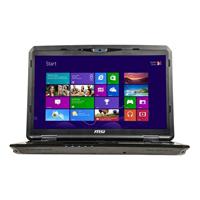 """MSI GT70 Dominator-895 17.3"""" Laptop Computer - Brush Aluminum Black"""