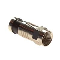 Platinum Tools F RG6 Compression Connectors - 10 Pack