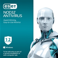 ESET NOD32 Antivirus 2015 1 User 2 Year OEM (PC)