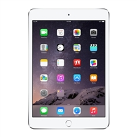 Apple iPad Mini 3 64GB Wi-Fi + Cellular - Silver