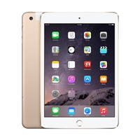 Apple iPad Mini 3 64GB Wi-Fi + Cellular - Gold