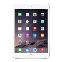 Apple iPad Mini 3 128GB Wi-Fi + Cellular - Gold