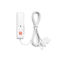 Oplink Wireless Water Leak Sensor with automatic event-triggered alerts sent to smartphone
