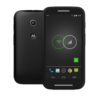 Motorola Moto E Phone Kit - Black (Republic Wireless)