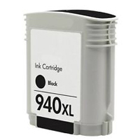 Micro Center Remanufactured HP 940XL with Chip Black Ink Cartridge