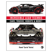 No Starch Press INCREDIBLE LEGO TECHNIC