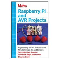 O'Reilly Maker Shed MAKE: RASPBERRY PI & AVR