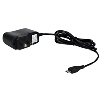 QVS Micro-USB Power Supply for Raspberry Pi B with Built-in 4ft Cable - 2 Amp
