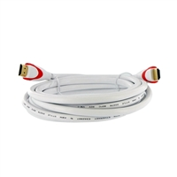 Inland 12 ft. HDMI Male to HDMI Male Cable with Ethernet - White