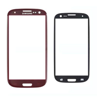 Samsung Galaxy S3 Red SRN-SAM-198 Replacement Glass