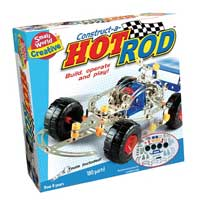 Small World Toys Construct A Hot Rod Kit