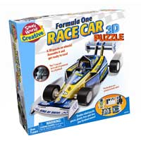 Small World Toys Formula One Race Car - 3D Puzzle