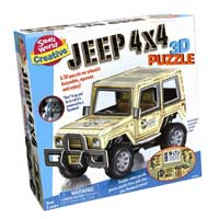 Small World Toys Jeep - 3D Puzzle
