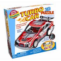 Small World Toys Turbo Car - 3D Puzzle