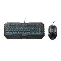 Cooler Master Storm Octane LED Gaming Keyboard and Mouse Combo - Black