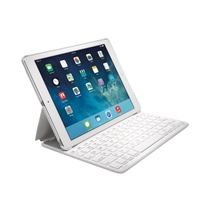 Kensington KeyFolio Thin X2 for iPad Air 2 - White