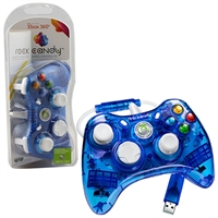 Innex Rock Candy Blue Controller (Xbox 360)