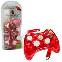 Innex Rock Candy Red Controller (Xbox 360)