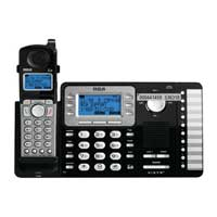 RCA 2-Line Cordless with CID and Full Duplex Speakerphone expandable to 10 handsets