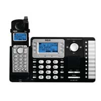 RCA 2-Line Cordless with CID, ITAD and Full Duplex Speakerphone expandable to 10 handsets