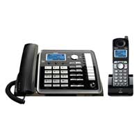 RCA 2-Line Corded/Cordless Telephone w/ITAD - expandable to 10 handsets