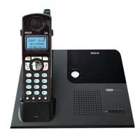RCA 4-Line Cordless Business Office Phone can be linked with up to 16 corded or cordless base stations, 25424/25425