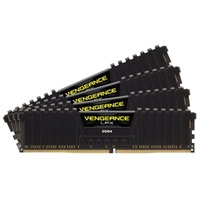 Corsair 16GB 4 x 4GB DDR4-2400 (PC4-19200) CL14 Quad Channel Desktop Memory Module Kit