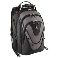 "Swiss Gear Update Notebook Backpack Fits up to 15"" - Gray/Black"