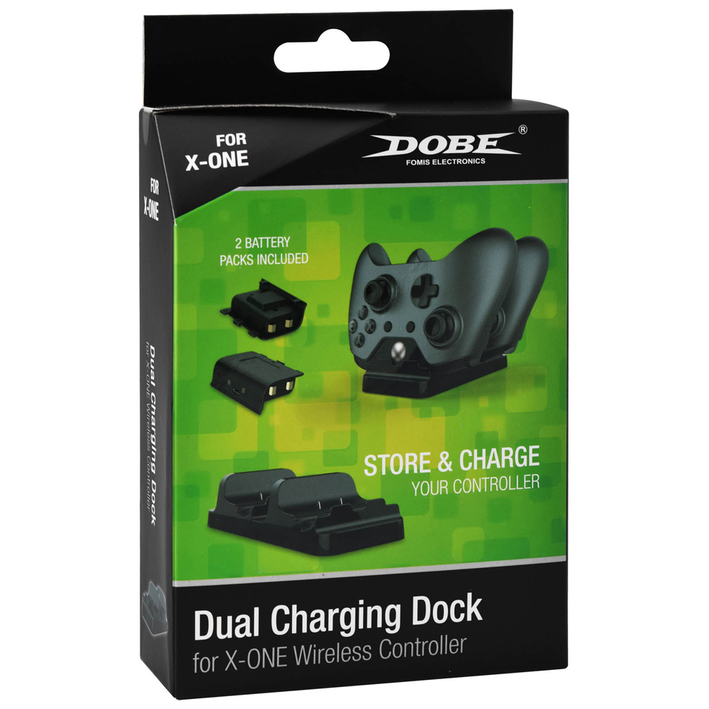 Dobe Dual Controller Charger for Xbox One Wireless Controller