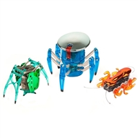 Hexbug Chrome Tri Pack - Spider/Inchworm/Ant