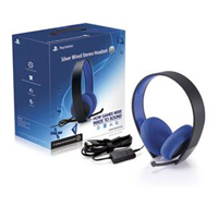 Sony Wired Stereo Headset (PS4) Silver