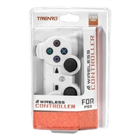 Trenro Wireless Controller White (PS3)