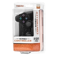 Trenro Wired Game Controller (PS3) Black