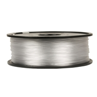 Inland 1.75mm Translucent Natural PETG 3D Printer Filament - 1kg Spool (2.2 lbs)