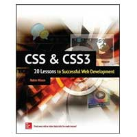 McGraw-Hill CSS & CSS3: 20 Lessons to Successful Web Development, 1st Edition