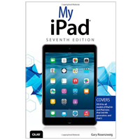 Pearson/Macmillan Books My iPad (Covers iOS 8 on all models of iPad Air, iPad mini, iPad 3rd/4th generation, and iPad 2), 7th Edition