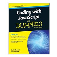Wiley Coding with JavaScript For Dummies, 1st Edition