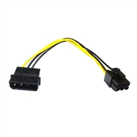 Logisys 12v Molex to 12V 6Pin Adapter