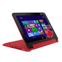 """HP Pavilion 13-A013 x360 Convertible 13.3"""" Laptop Computer Refurbished - Red"""