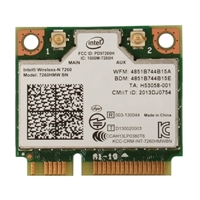 Intel Wireless-N 7260 Bluetooth 4.0 Network Adapter