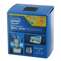 Intel Xeon E3 1231V3 3.5GHz LGA 1150 Boxed Processor