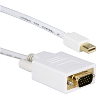 QVS 15 ft. Mini-DisplayPort to VGA Video Cable