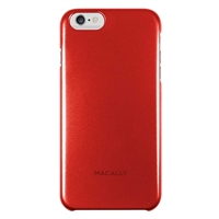 MacAlly Metallic Snap-On Case for iPhone 6 Plus - Red