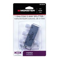 Just Hook It Up 3 Way Digital 1GHz Coax Splitter