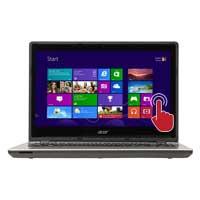 """Acer Aspire V3-472P-324J 14"""" Laptop Computer Refurbished - Platinum Silver"""