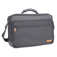 Samsill Microsoft Optima Portfolio Notebook Bag Fits Screens up to 15.4 - Black